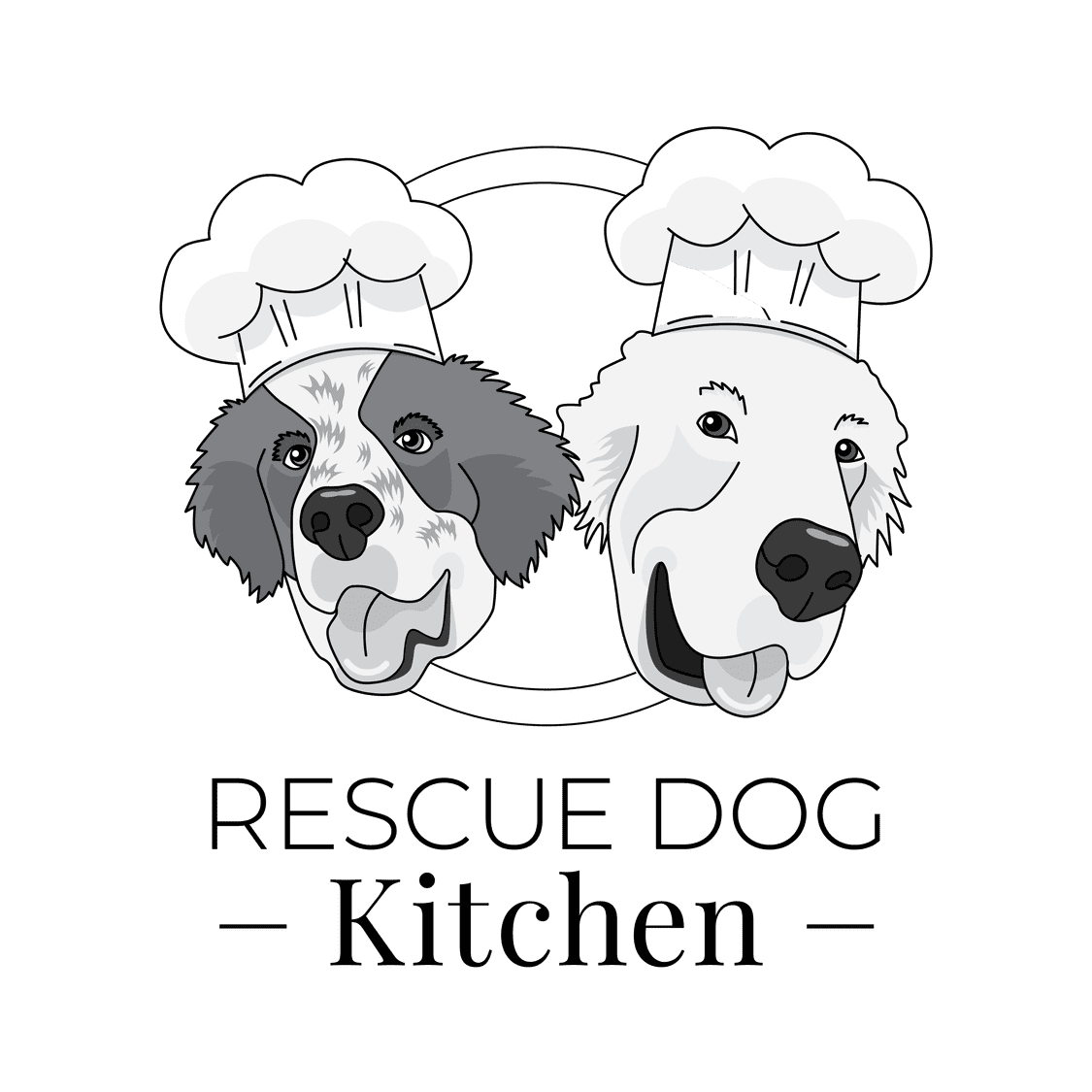 Rescue Dog Kitchen Logo