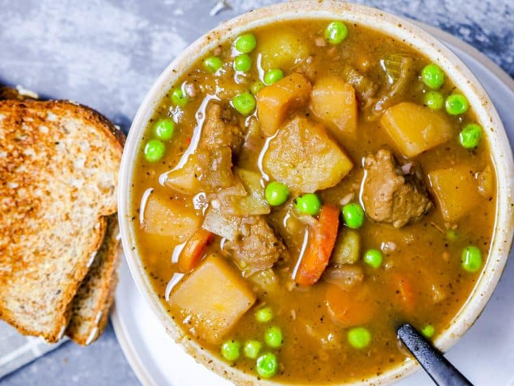 Vegan Beef Stew (Instant Pot Recipe)