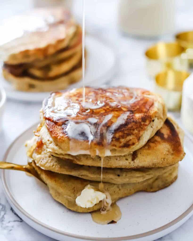 Vegan Recipe for Sourdough Pancakes