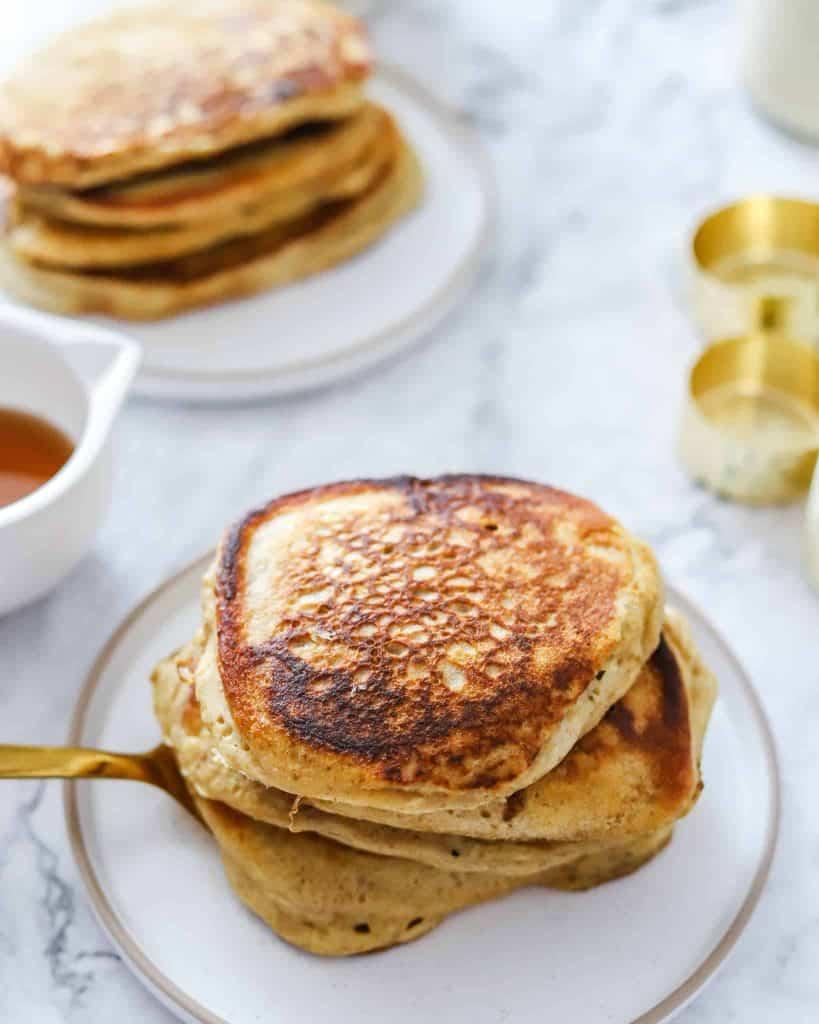 Vegan Sourdough Pancakes Recipe