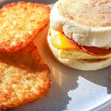 Vegan Egg McMuffins