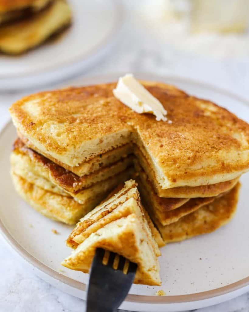 vegan buttermilk pancakes recipe