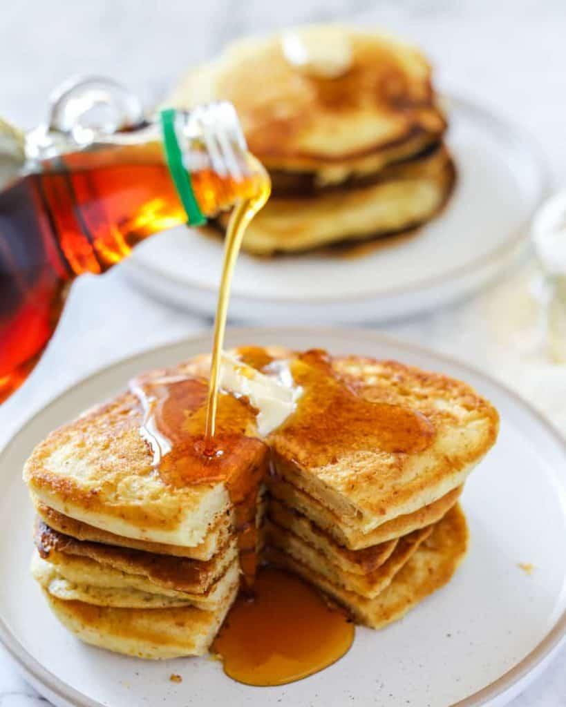 buttermilk pancakes vegan recipe